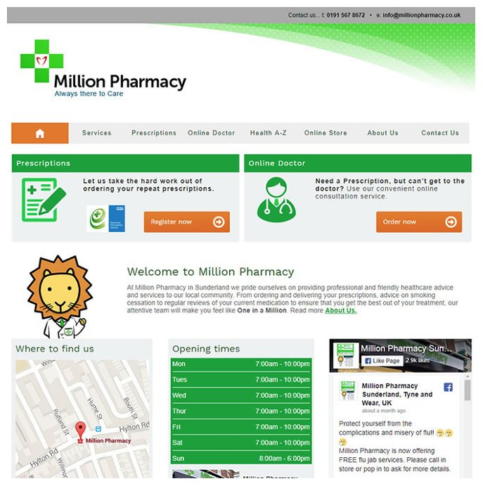 Million Pharmacy