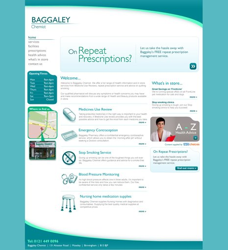 Baggaley Chemist Community Pharmacy